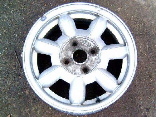 "Wheel, alloy, 14"", Mazda MX-5 mk1, early daisy type, 4x100 PCD, 5.5J, USED"